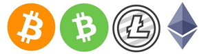 Donate Bitcoin (BTC), Bitcoin Cash (BCH), Ethereum (ETH) and Litecoin (LTC)